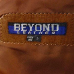 Beyond Leather Jackets & Coats - Beyond Leather Genuine Suede Leather Vest